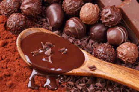 Chocolate Velvet - Seventy Five minute chocolate making workshop including Belgian truffles - Save 68%