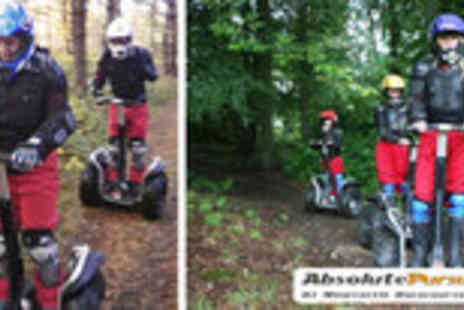 Absolute Segway - Segway assault course for two - Save 67%