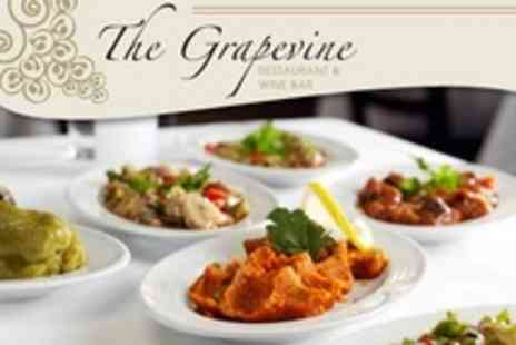 The Grapevine - Tapas Style Sharing Lunch For Two - Save 51%