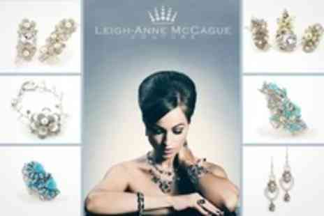 Leigh Anne McCague Couture - Jewellery Making Workshop With Afternoon Tea - Save 62%