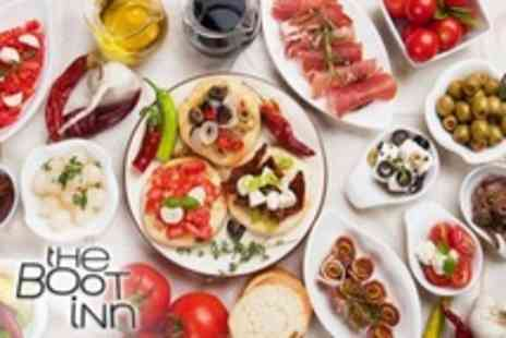 The Boot Inn - Five Tapas Dishes For Two Plus Liqueur Coffee Each - Save 50%