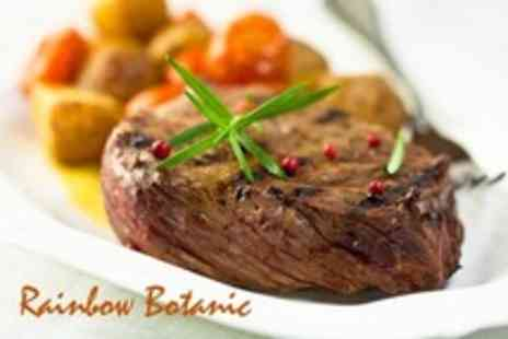 Rainbow Botanic - Porterhouse Steak For Two - Save 55%