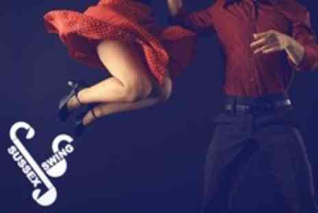 Sussex Swing - Five Swing Lindy Hop or Blues Dance Lessons - Save 54%