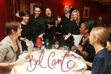 Bel Canto - Live Opera Dining Experience For One - Save 52%