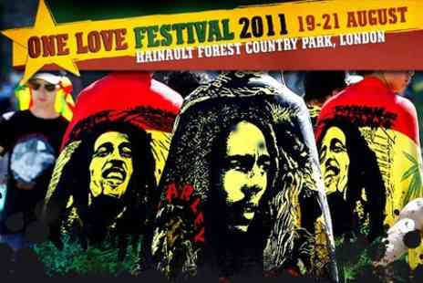 One Love Festival - Festival Weekend Ticket - Save 52%