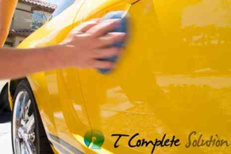 T Complete Solution - Full Mobile Valet Service With Superguard Paint and Interior Protection System Treatment - Save 81%