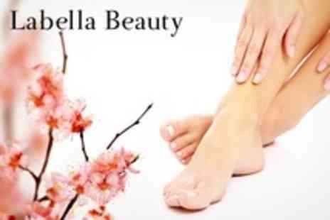 La Bella Beauty - Deluxe Manicure or Pedicure - Save 50%