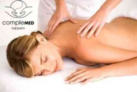 Complemed Therapy - One Hour Sports or Deep Tissue Massage - Save 60%
