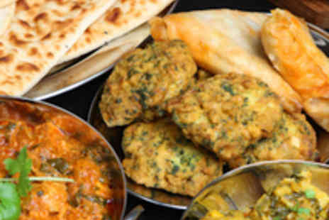 Green Chilli Cafe - Indian Tapas Meal with Mango Lassi Each for Two - Save 57%
