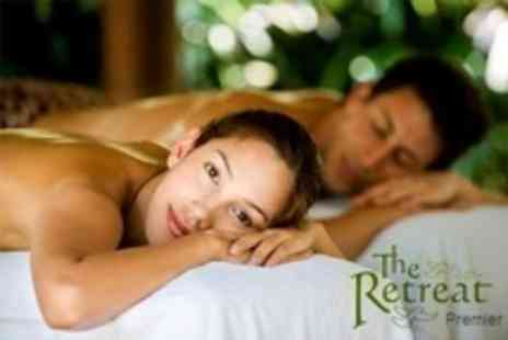 The Retreat - Spa Day For Two With Back Massage Each - Save 70%