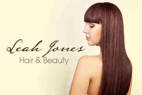 Leah Jones Hair & Beauty - Half Head Highlights, Cut and Blow Dry Or Restyle, Plus Kerastase Conditioning Treatment - Save 71%