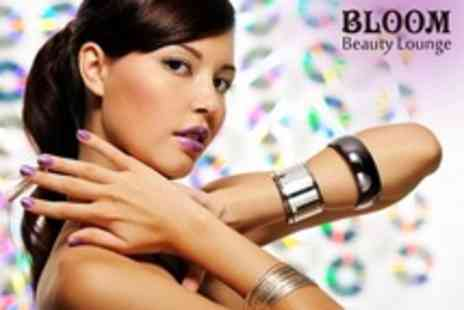 Bloom Beauty Lounge - Shellac Manicure or Shellac File and Polish For Toes - Save 68%