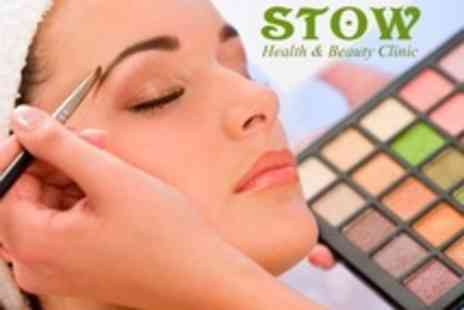 Stow Health & Beauty Clinic - Make Up Application With Mini Manicure - Save 64%