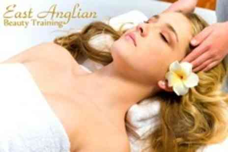 East Anglian Beauty Training - Beginners Indian Head Massage Course - Save 17%