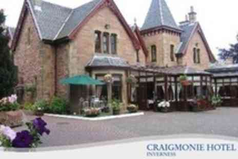 Craigmonie Hotel - One Night Stay For Two With Chocolates, Cava, Breakfast and Spa Access - Save 52%