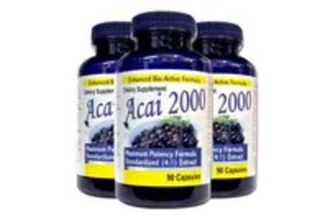 You Look Slim Corporation - Extra Strong 2000mg Acai Berry Lose Unwanted weight Fast - Save 30%