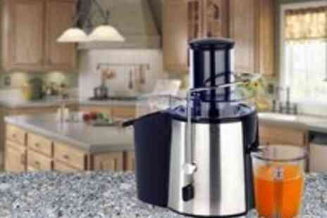 Sashtime - Electric Juicer Whole Fruit Vegetable 990W - Save 60%