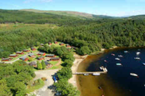 Loch Lomond Luxury Lodges - Three night stay for up to four people - Save 65%