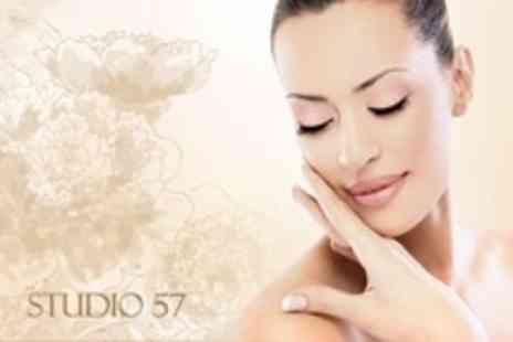 Studio 57 Hair & Beauty - Facial With Mini Shellac Manicure or Pedicure - Save 68%