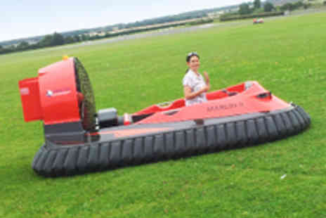 HoverLimits - Five Hovercraft Laps with Training - Save 63%