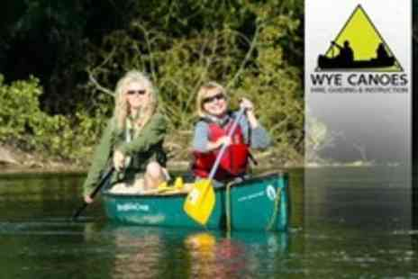 Wye Canoes - Guided Canoeing and Orienteering Day - Save 64%