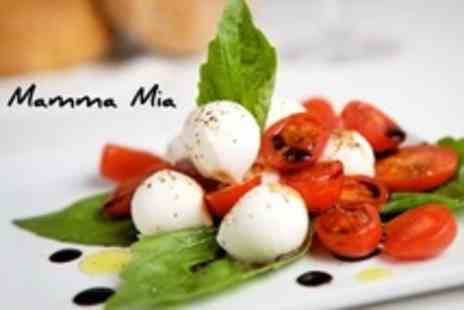 Mamma Mia - Two Course Italian Meal For Two or Four - Save 56%