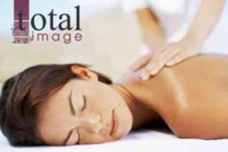 Total Image - One Hour Swedish Full Body Massage Plus Express Manicure or Pedicure or Both - Save 57%