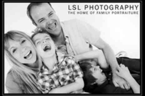 LSL Photography - Family Photoshoot With Framed Print - Save 30%