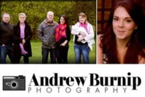 Andrew Burnip Photography - Family Photo Shoot On Location Plus Three Prints - Save 50%