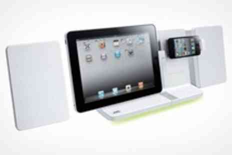 WAM Europe - JVC Sound System For iPad, iPhone and iPod With Built In CD Player - Save 56%