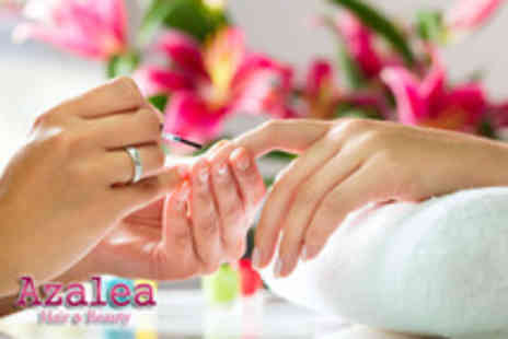 Azalea Hair & Beauty - Manicure or pedicure plus an express facial and Indian head massage - Save 72%