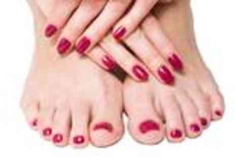 Lip Couture Make Up - Shellac manicure and pedicure - Save 60%