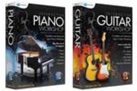 Avanquest Software Publishing - Learn Software to play the piano or guitar - Save 58%