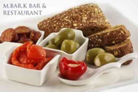 M.Bar.K Bar and Restaurant - Tapas For Two or Four With Sangria or Wine - Save 57%