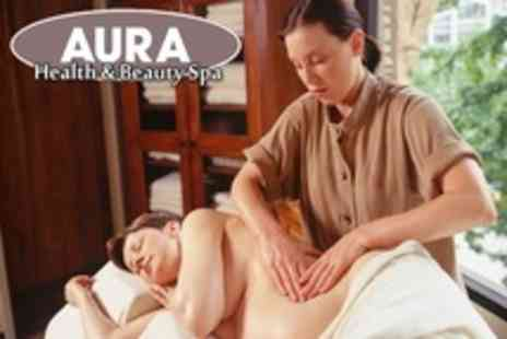 Aura Health and Beauty Spa - Chocolate Therapy Massage - Save 62%