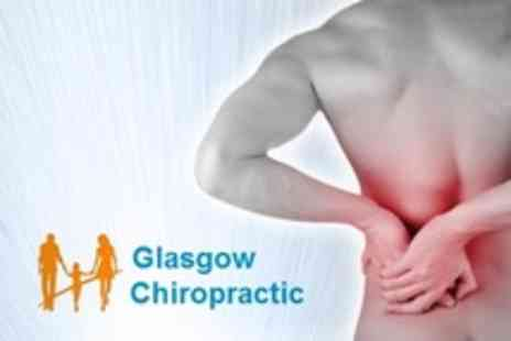 Glasgow Chiropractic - Chiropractic Consultation With Spinal Screening and Three Follow Up Treatments - Save 75%