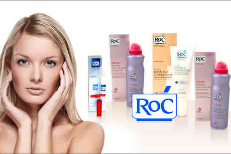 ShopAZoo - Luxury RoC beauty set, youth enhancing products for your face and body - Save 65%