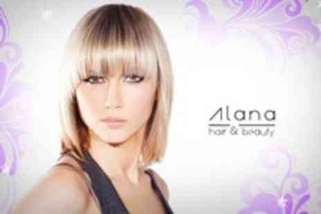 Alana Hair and Beauty - Half Head Highlights With Cut and Blow Dry Plus Conditioning Treatment - Save 54%