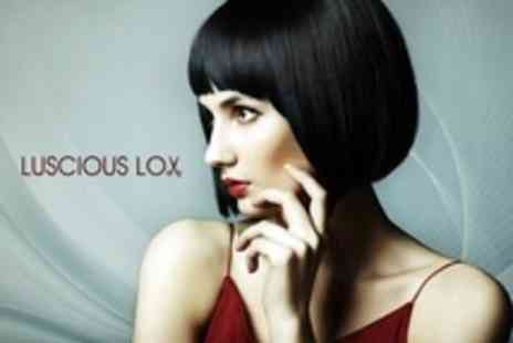 Luscious Lox - Cut and Blow Dry With Conditioning Treatment and Head Massage - Save 20%