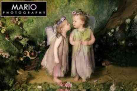 Mario Photography - Childrens Fairy Photo Shoot With Two Mounted Prints - Save 92%