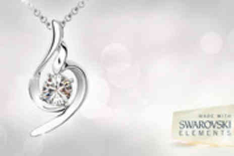 Lily Nicole - Sophistication with this White gold plated necklace - Save 87%