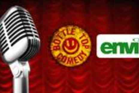 envi - Comedy club experience with hot buffet and wine - Save 60%