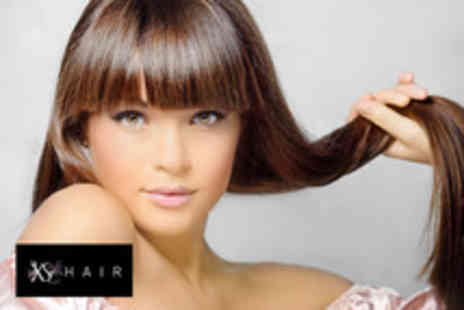 XS Hair - Restyle including cut, conditioning and blow dry with a senior stylist - Save 63%