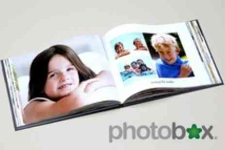 PhotoBox - Personalised Hardback A4 Photobook - Save 70%