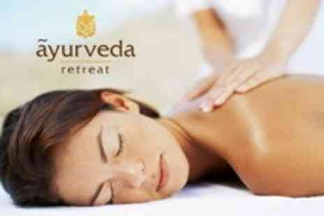 Ayurveda Retreat - Choice of Massage With 60 Minute Assessment - Save 69%