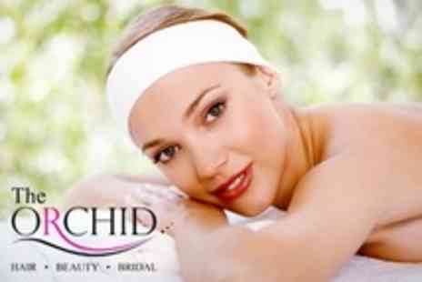 The Orchid Hair and Beauty - Mani or Gel Mani Facial Massage or Three Treatments - Save 64%