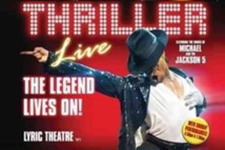 Thriller Live - Tickets at the Lyric Theatre - Save 53%