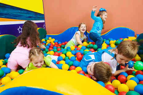 Funky Monkeys - One day  entry, keeping the kids entertained in the summer holidays - Save 80%