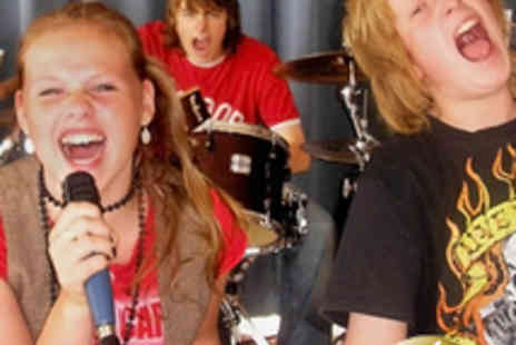 School Of Rock And Pop - Three 2 Hour Childrens Music Sessions - Save 72%