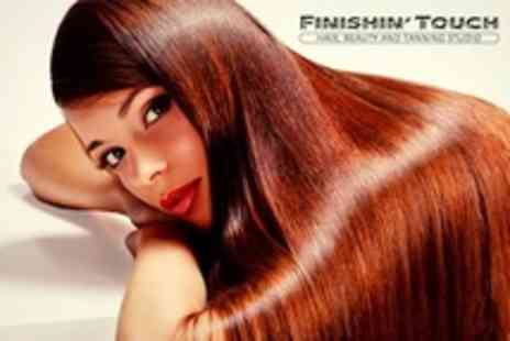 Finishin Touch - Cut Blow Dry and Condition With Eyelash or Brow Tint or Both - Save 58%